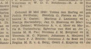 29 mei 1940 de Tijd