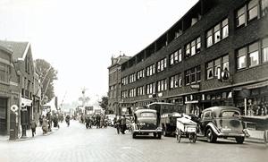 Veerplein in de jaren dertig