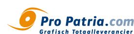 Pro Patria grafisch totaalleverancier logo